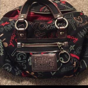 Authentic COACH poppy satchel